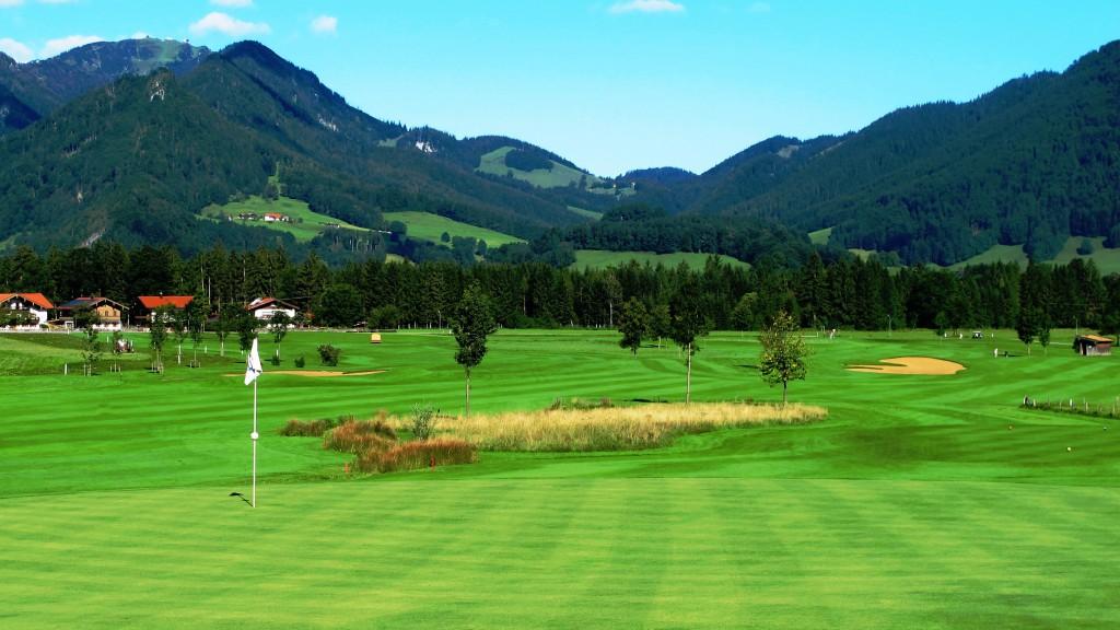 Umrahmt von den Bergen: Der Golf Club Ruhpolding e.V.