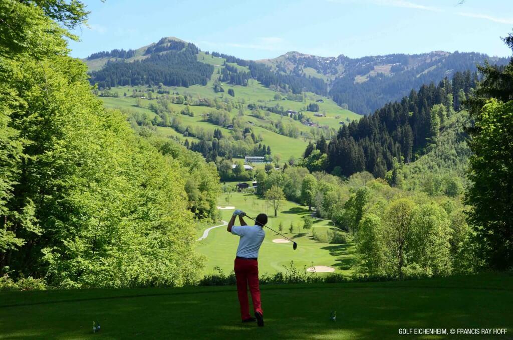 Ein Platz mit einem traumhaften Ambiente: Der Golfclub Eichenheim Foto: Francis Ray Hoff