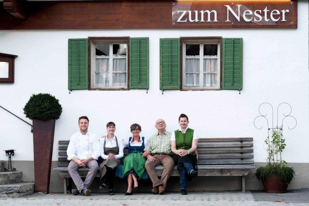 Das Gasthaus zum Nester in Stumm im Zillertal