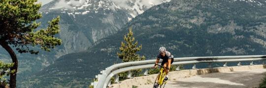 Schweiz, ganz natuerlich.                               BMC Road Bike Shooting, hier bei , Wallis.