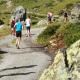Auf der Marathondistanz geht es auf das knapp 3.000 Meter hohe Kronenjoch vorbei an den imposanten Gipfeln des Fimbatals. Foto: TVB Paznaun-Ischgl