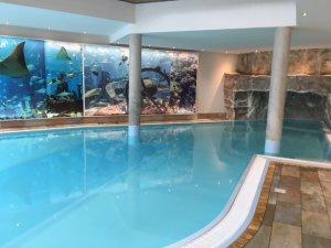 Pool im Sporthotel Achensee